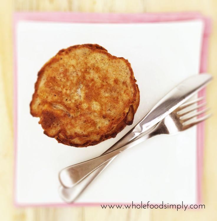 banana date and walnut pancakes