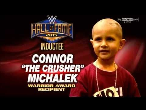 WWE Raw 3/9 Connor the Crusher Hall of Fame Warrior Award Inductee