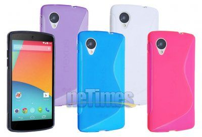 S-Wave Soft Jelly Case for Google Nexus 5