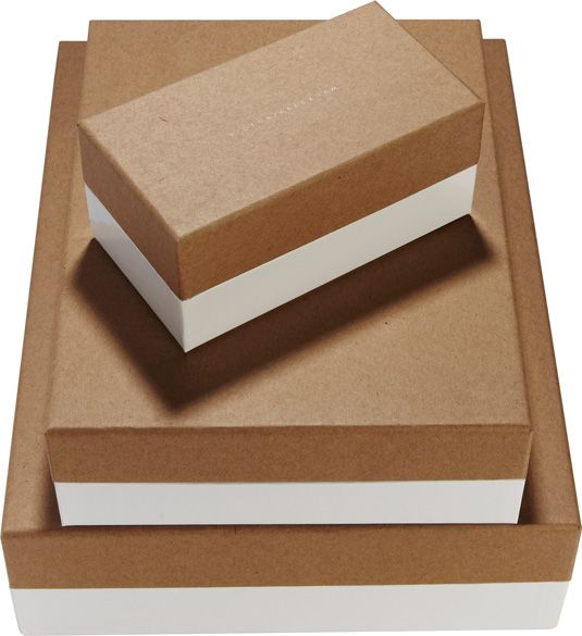 Victoria Beckham packaging boxes