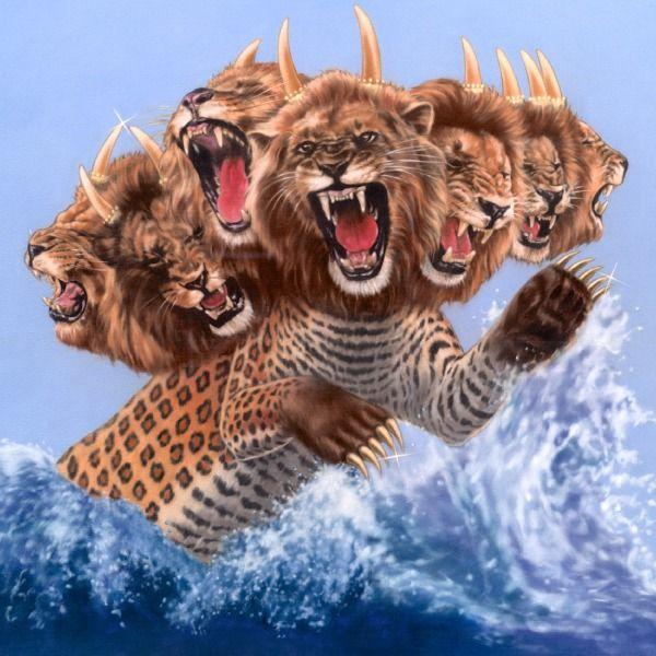 O que é a fera de sete cabeças de Apocalipse capítulo 13?