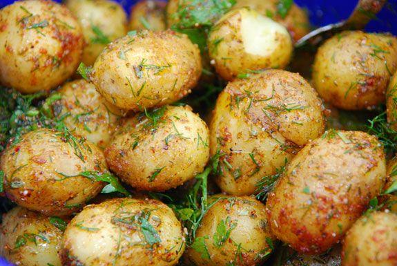 små kartofler grill