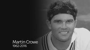 Martin Crowe - 22/09/62-03/03/16 - New Zealand cricketer