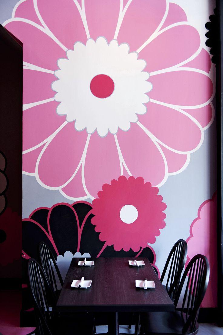 Wall Graphic-  Bistro Japonais Kinoya / Jean De Lessard,  Lille, France