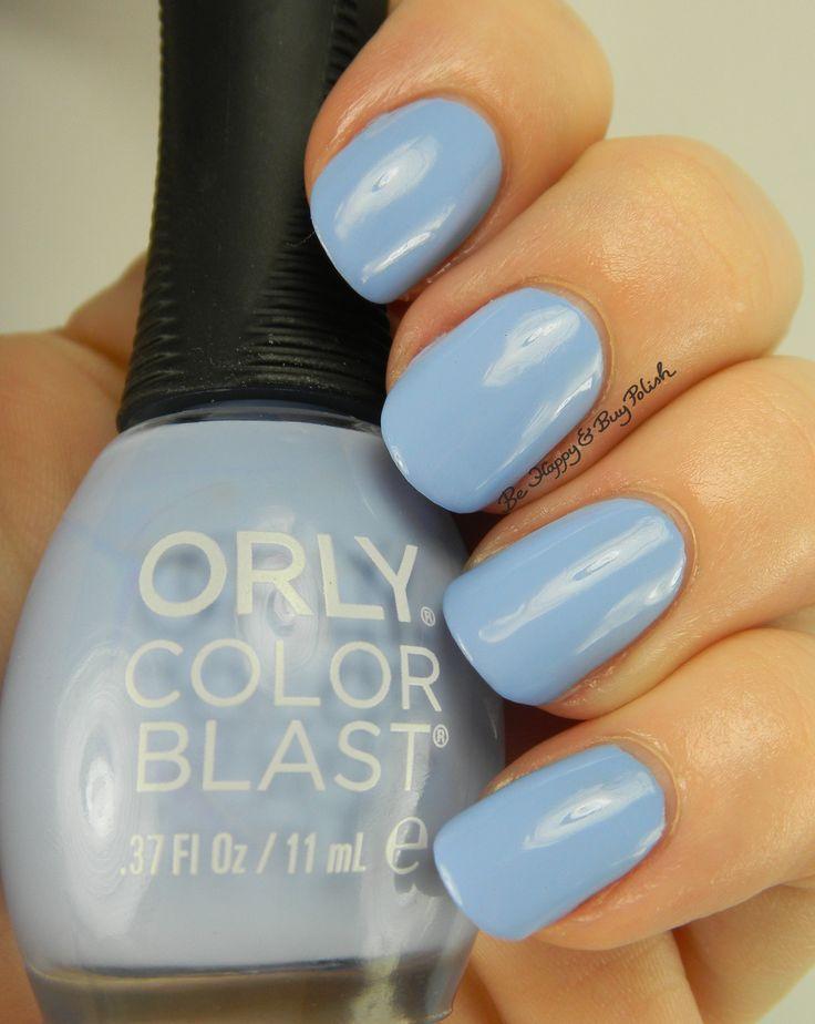 Cinderella Orly Color Blast Bibbidi Bobbidi Blue | Be Happy And Buy Polish http://behappyandbuypolish.com/2015/11/29/orly-color-blast-cinderella-nail-polish-collection-partial/