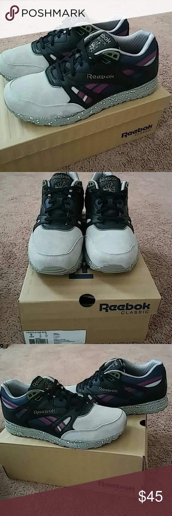 6a2c0c1d1fd6 ... Brand New Reebok Classic Ventilator Black Stl Navy This brand has the  most beautiful Reebok Melody Ehsani sneakers ...