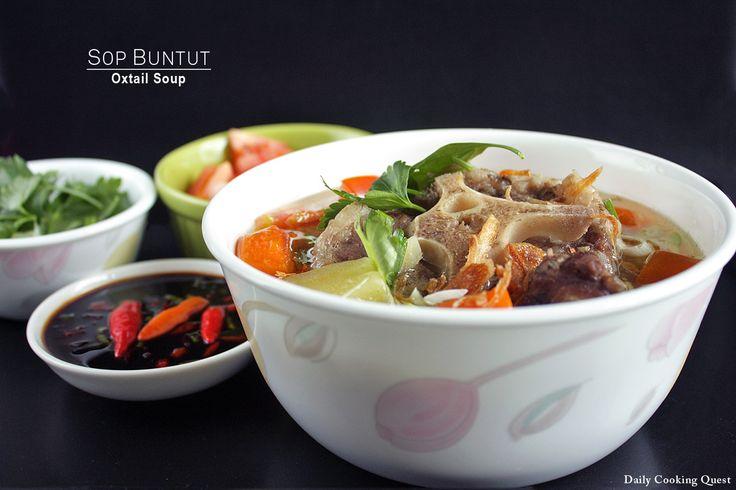 Sop Buntut – Oxtail Soup