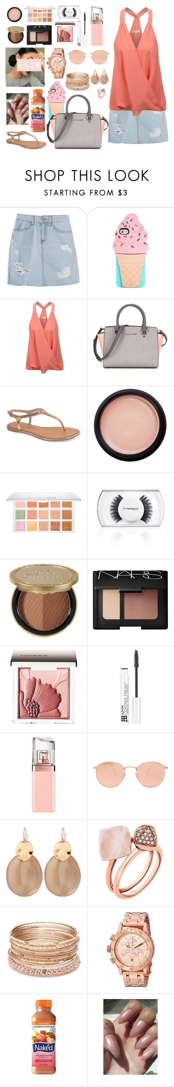 """""""Kehlani's new album is 👌🏾👌🏾👌🏾🔥🔥🔥🔥"""" by cissylion ❤ liked on Polyvore featuring Kate Spade, LE3NO, Chinese Laundry, Sephora Collection, MAC Cosmetics, Too Faced Cosmetics, NARS Cosmetics, Clinique, NYX and HUGO"""
