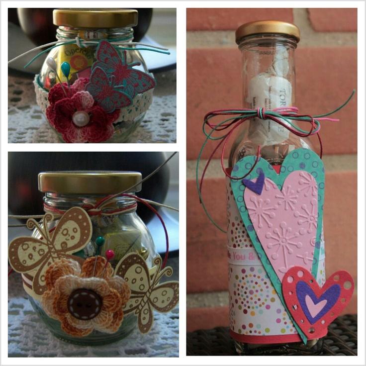 390 best images about copas y botellas decoradas on pinterest - Botellas de plastico decoradas ...