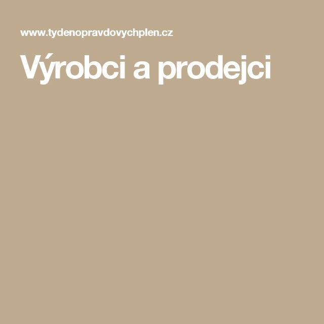 Výrobci a prodejci