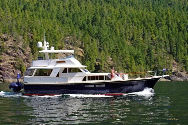 Calibre Yacht Sales : Vancouver based boat brokerage. We sell used powerboats, sailboats, trawlers, Bayliners, Camanos and more. : 1972 Hatteras 58 Motor Yacht for sale BC CA