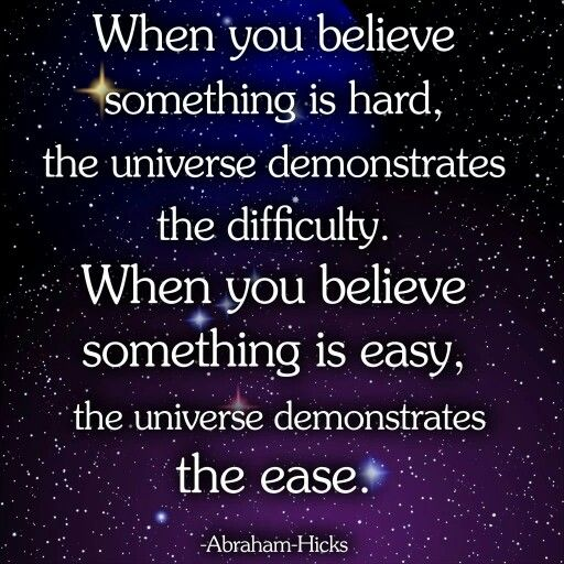The universe demonstrates. ..