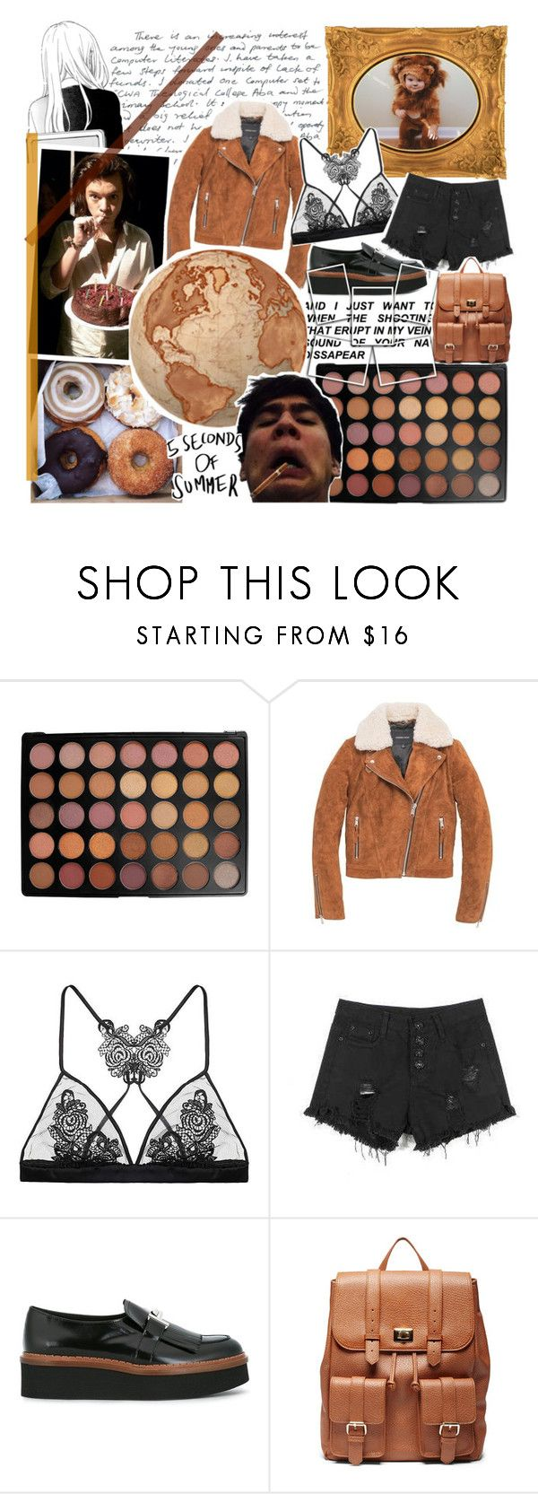 """""""Sign of The Times"""" by cosmoschaos on Polyvore featuring moda, Morphe, Andrew Marc, Fleur of England, Tod's e Sole Society"""