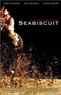 Seabiscuit - True story of the undersized Depression-era racehorse whose victories lifted not only the spirits of the team behind it but also those of their nation.