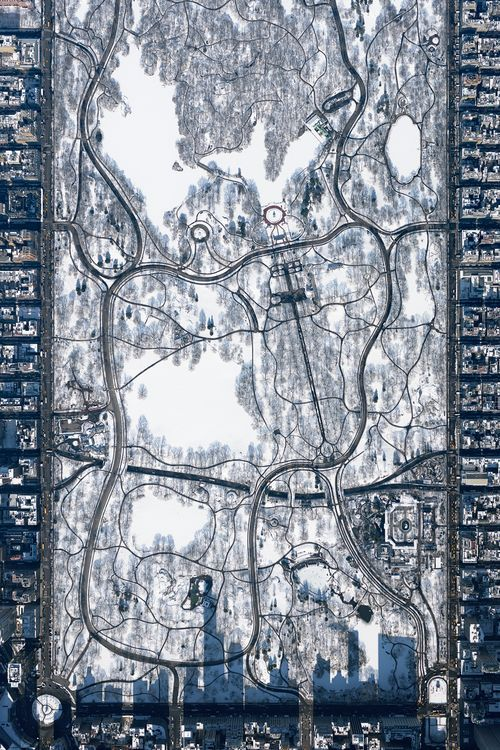 Central Park from 10,000 feet Photo by Filip Wolak — National Geographic Your Shot