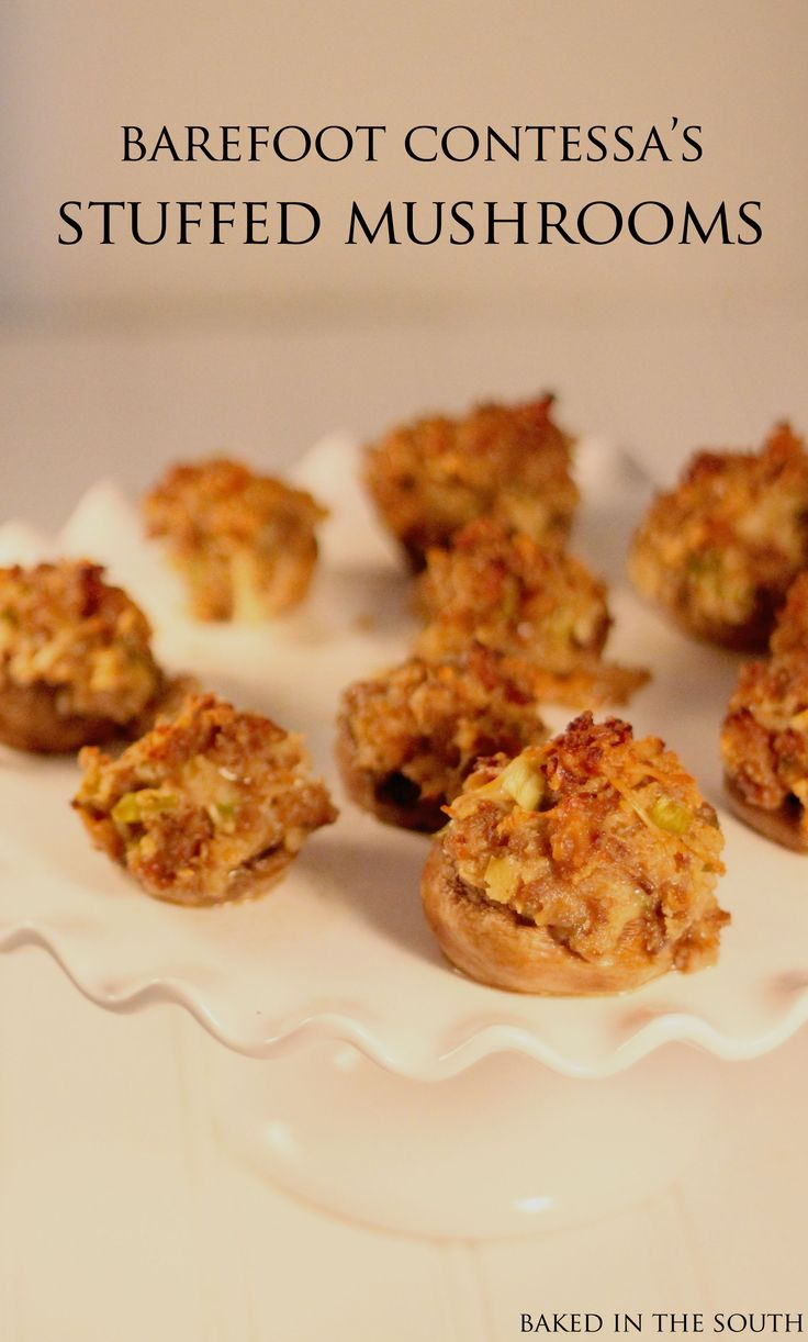 Barefoot Contessa 39 S Sausage Stuffed Mushrooms Recipe