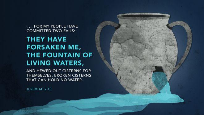 Jeremiah 2:13