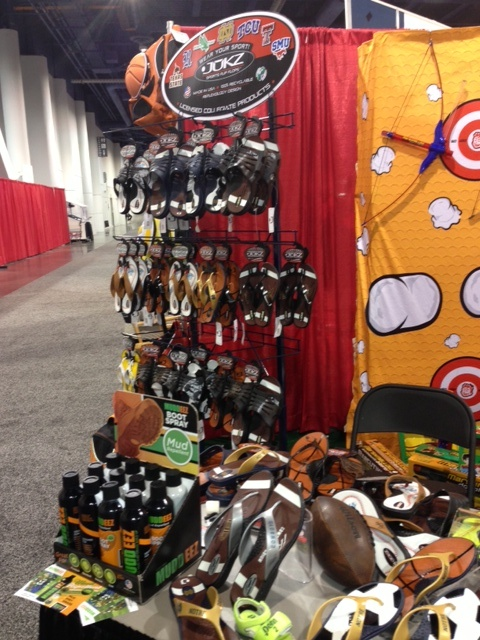 Jukz at the Vegas Sports Licensing and Tailgate Show!