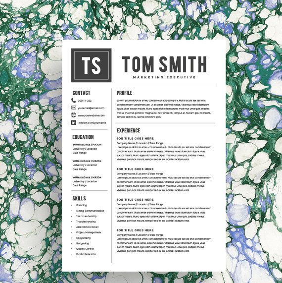 Best Modern Resume Templates Images On   Templates