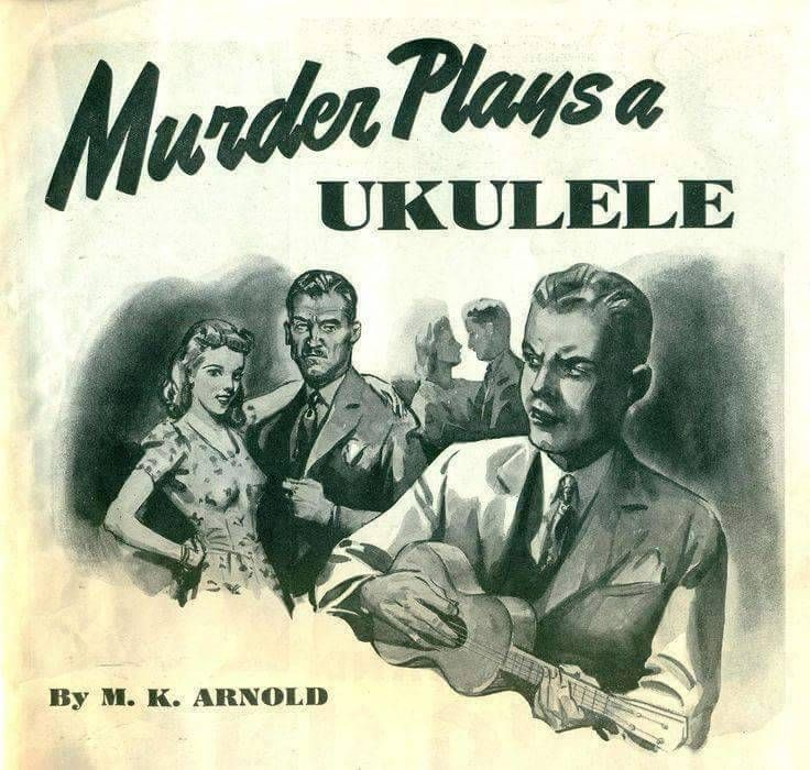 Image result for death plays a ukulele book cover