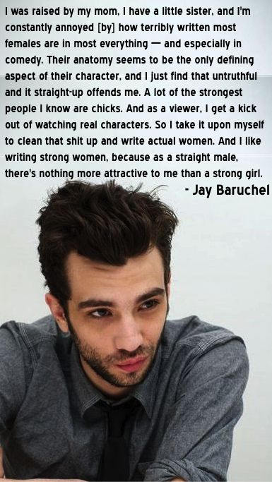 This just proves that Jay Baruchel is not egotistical, judgmental, or full of himself... he knows what is right and believes it... he his not the typical celebrity you see, he is down to earth and respects everyone... (comment if you agree)                                                                                                                                                                                 Más