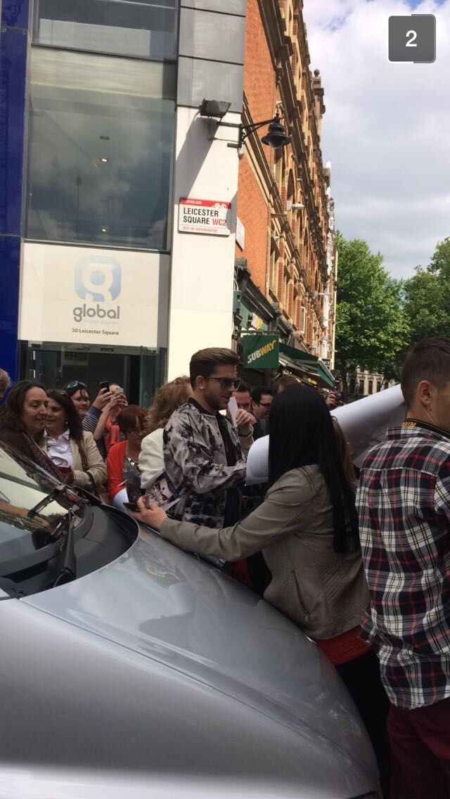 Adam Lambert. I saw him! #adamlambert #london