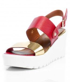 Яркие босоножки на танкетке. #MarioMuzi #shoes #style #fashion #comfortable #women #for_girls #lady #pretty #beautiful #casual #2016 #spring #summer #onlineshop #shopping #sale #Kharkiv #Kharkov #Ukraine #Lviv #Dnepropetrovsk #Odessa #МариоМузи #обувь #женская_мода #женская_обувь #женские_туфли #босоножки #интернет_магазин #шоппинг #весна #лето #Харьков #Львов #Днепропетровск #Одесса