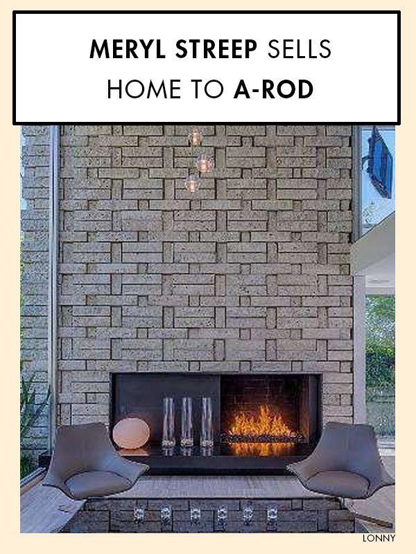 meryl streep sells home to a rod celebrity homes. Black Bedroom Furniture Sets. Home Design Ideas