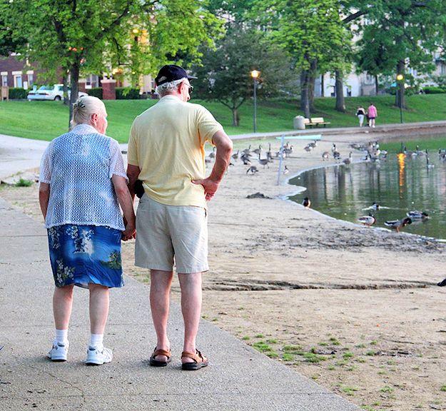True #Love Lasts Forever                               #oldcouple