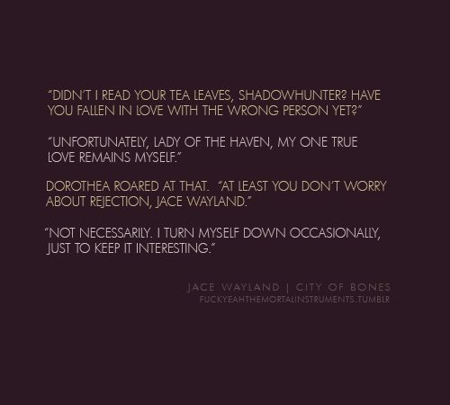 Jace Herondale Quotes By @quotesgram