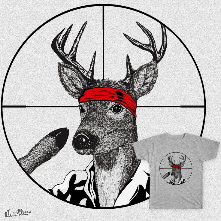 Deer Hunter on Threadless