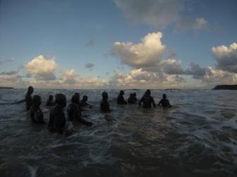 Les Pingouins Castins : Marche dans l'eau