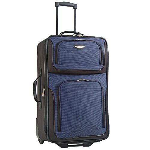 Travelers Choice Travel Select Amsterdam 25-Inch Expandable Rolling Upright Navy One Size