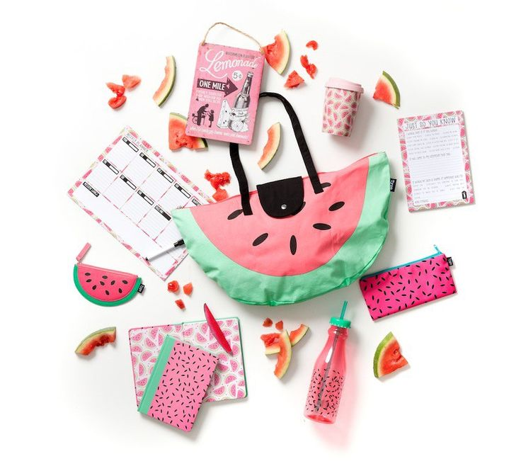 Typo Tropical homewares range - Watermelon Homewares