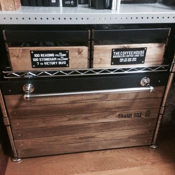 [DIY]収納木箱をつくる。【メタルラックと組み合わせる】#2|LIMIA (リミア)