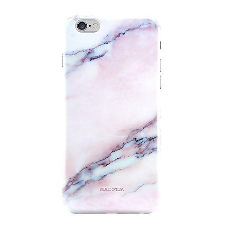 Coque iPhone 6 Marbre rose - Madotta