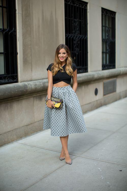 Saia godê: um toque mais feminino em qualquer look | Ideias fashion, Estilos, Looks style