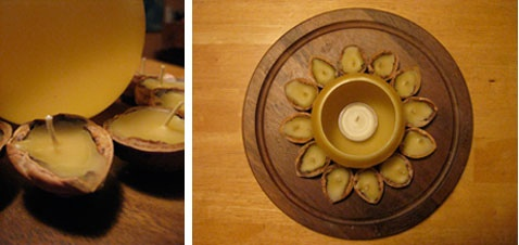 Beeswax Luminary and Candles by 54mama, via Flickr this would be a lovely way to do a countdown to something special