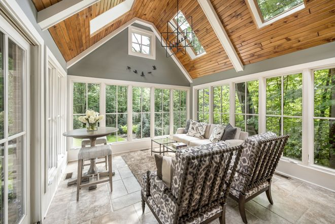 35 Beautiful Sunroom Design Ideas Sunroom Designs Sunroom Decorating Sunroom Dining