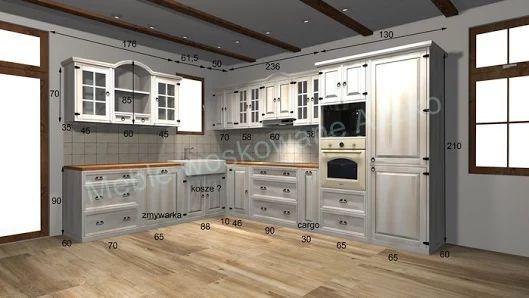 kuchnia bielona