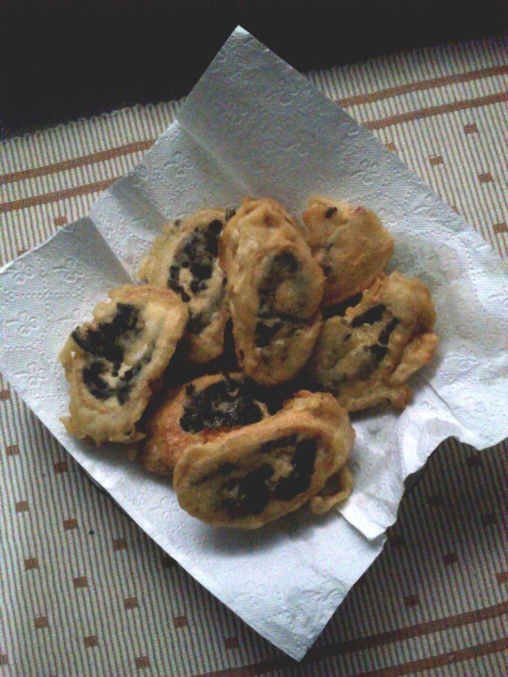 Rollade Tahu Daun Singkong.  See the recipes on the website address!