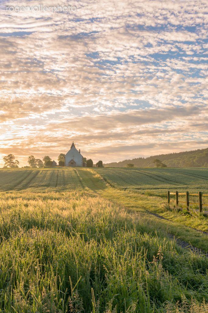 Little country church #fields #farmlands