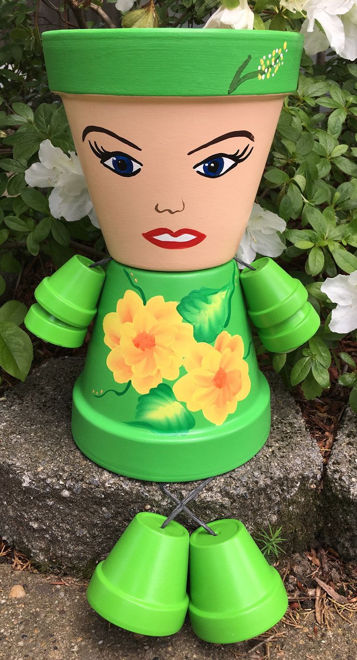 A personal favorite from my Etsy shop https://www.etsy.com/listing/515183712/clay-pot-people-mothers-day-gift-mama