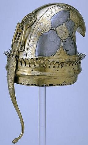 Indian (Maratha) helmet, 18th century,