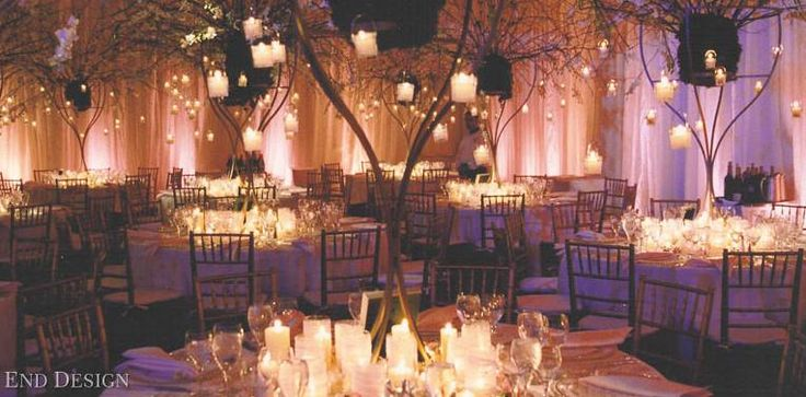 Enchanted forest theme #thewedco