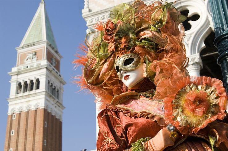イタリアの「ヴェネツィア・カーニバル」。仮面をかぶって仮装。世界のお祭りまとめ
