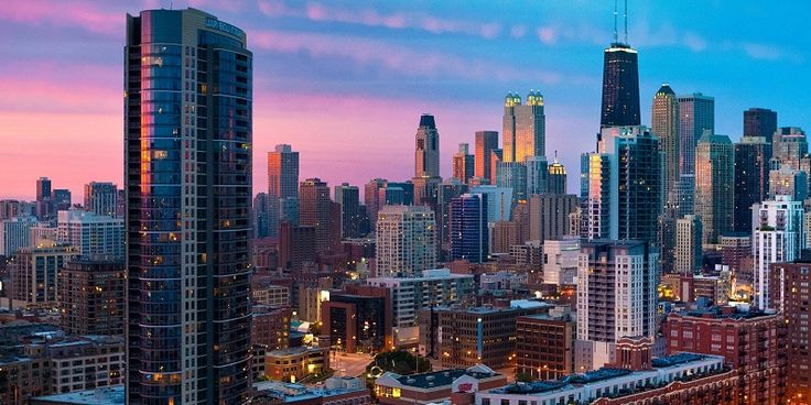 Very cheap flights from Berlin, Germany to Chicago, USA for only £222 return with KLM and Air France