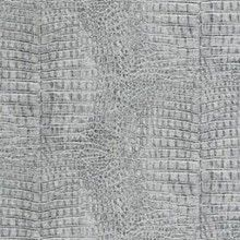 This silver crocodile skin wallpaper blends stunning texture with unorthodox yet effective colours. A must have.