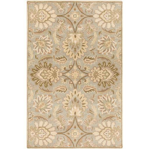 Caesar CAE-1028 Gray Damask Rug  #decor #rugs #floordecor #myhomeisbetterthanyours #classy #fab #interiorstyling #homeideas #homedecor #trendy