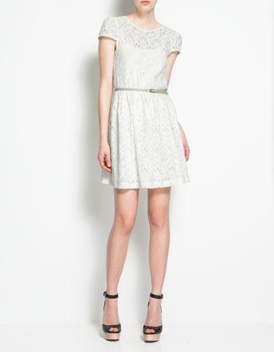 Zara lace dress for spring